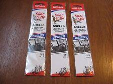 18 Snelled Eagle Claw 139 Bait Holder BaitHolder Fishing Hooks Size 6