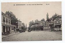 MONTMORENCY Val D'Oise CPA 95 la gare et le restaurant route de l'hermitage