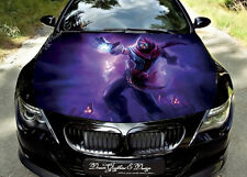 Manga Full Color Graphics Adhesive Vinyl Sticker Fit any Car Bonnet #134