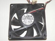 PLATINUM DFS802512M Lüfter Cooler Fan +++ 12V / 1,3W +++ 80X80X25