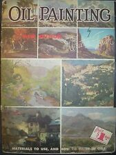 Walter Foster Art Book # 4 Oil Painting Instruction Book