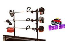 Lockable Weed Eater Trimmer Rack, Snap-in Style, Lawn Mower & Landscape Trailers