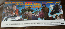 2015 Sdcc Comic Con Idw Back To The Future Promo Card Michael J Fox Marty Mcfly