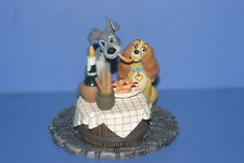 DISNEY Lady & the TRAMP (cracked) Figure Fantastic Gallery Tomy