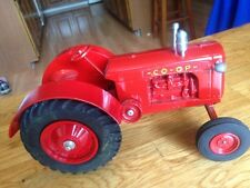 Co-op farm toy tractor - made of diecast metal in 1/16th scale