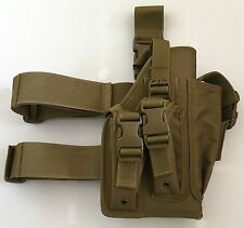 New Airsoft MK23 Desert Eagle USP Tactical Dropleg Pistol Holster Coyote Tan