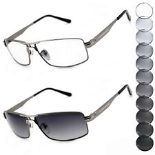Photochromic lenses Transition Sunglasses Gun-metal Eyewear spectacles E7008TT