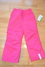 Hanna Andersson solid snowboard pants new nwt 110 zing pink snowpants snow 6 6