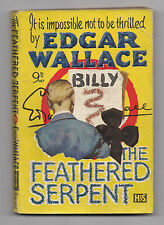 Edgar Wallace THE FEATHERED SERPENT - Hodder large 9d paperback (1930)