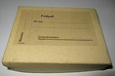 WWII campo pacco postale felpostpaket ungelaufen Army postal service parcel unused