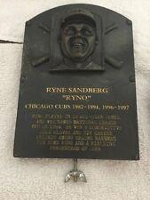 Chicago Cubs Ryne Sandberg Hall Of Fame Replica Plaque NIB
