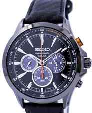 Seiko Solar Chronograph Men's Watch SSC499P1, Warranty, Box