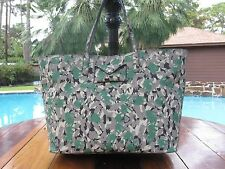 NWT MARC BY MARC JACOBS METROPOLI TOTE BRUSH TIPS CAMO M0006771 EXTRA LARGE