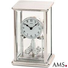 AMS 1210 Jahresuhr Quarz Drehpendeluhr Metallgehäuse Tischuhr Quarzuhr Uhr