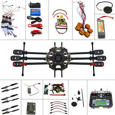 Full Set Helicopter Drone Tarot 680PRO Frame GPS APM 6CH Transmitter F07807-D