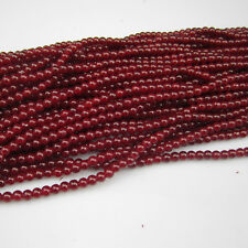 NEW Jewelry 100pcs 4mm Ball Glass crystal Beads for Fit Bracelets Necklaces #14