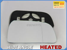 Wing Mirror Glass HYUNDAI TUSCON 2004 Wide Angle HEATED Right Side