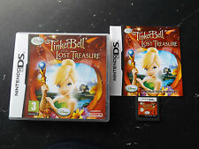 DISNEY'S disney TINKERBELL AND THE LOST TREASURE NINTENDO DS V.G.C. FAST POST