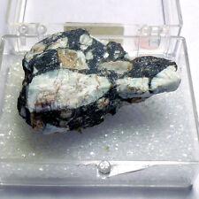 MPB001 Black Porphyry - Massive Rock - Sudbury, Ontario, Canada