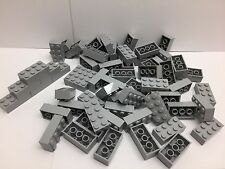 LEGO 3001 - 50 Brand NEW 2x4 Light Grey Bricks Per Order