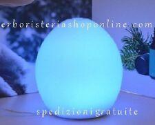 Diffusore Di Essenza-Ovale-Lampada-Aromaterapia-In-Vetro-220V-