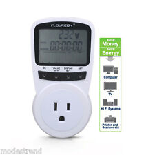 Energy Meter Watt Voltage Amp Calculator Electricity Monitor Analyzer US Plug