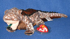 TY BALI the KOMODO DRAGON BEANIE BABY - MINT with MINT TAGS - GREEN TONGUE