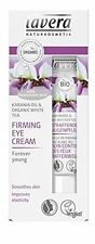 LAVERA ORGANIC FIRMING EYE CREAM 15 ml - ANTI-AGEING REDUCE WRINKLES