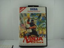 Ninja Gaiden - SEGA Master System Game with Manual