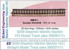 EE 5056 LikeNew Marklin HO Straight Model Track 3900A1/1 in LN Condition, 1 Each