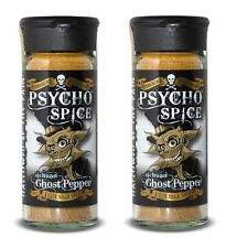 Dr Burnorium Set Of 2 Psycho Spice 45g Jar Sichuan Ghost Chilli Pepper Spices