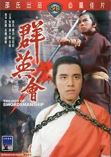 Trilogy Of Swordsmanship (1972) DVD [NON-USA REGION 3] IVL Eng Sub Shaw Brothers