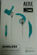 ***NEW Altec Lansing Bluetooth Stereo Headphones (Blue)***