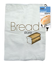 Eddingtons Bread Loaf Storage Bag 27cm x 37cm Reusable Keep Fresh Longer New