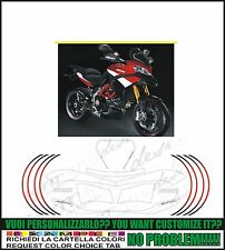 kit adesivi stickers compatibili  multistrada 1200 s pikes peak