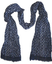 MENS H&M NAVY BLUE LIGHT SCARF