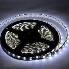 PCB Black 5M 5050 IP65 Waterproof LED Cool White 300LEDs Light Strip lamp DC 12V