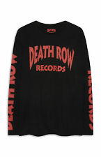 PRIMARK MENS DEATH ROW RECORDS LOGO LONG T SHIRT OFFICIAL HIP HOP TUPAC BNWT S