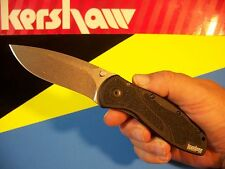 "KERSHAW ""usa"" - BLUR S30V spring assist SPEEDSAFE knife black Trac-Tec 1670S30V"