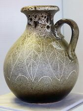 Vintage Pottery West German 495-20 Pitcher Jug/Vase 8 1/2 Tall Great Condition