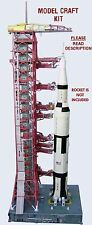 FACT. 2ND Launch Umbilical Tower (LUT) Model Craft Kit for 1:96 Revell Saturn V