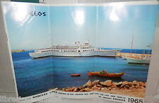OPUSCOLO PUBBLICITARIO DES DELOS Join the Nomikos Lines cruises in aegean see