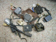 USED Motorcycle Electrical Parts Lot Honda Kawasaki Suzuki Yamaha