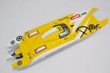 "Fiber Glass Gas RC Racing Speed Boat G30F 50"" Catamaran Prepainted Hull Only KIT"
