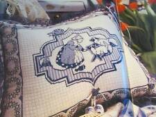 Cross Stitch & Needlework Magazine April 1998-Corbett's Gathering Eggs/Delft
