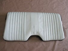 93-96 Firebird Trans Am White Leather Rear Upper Seat Back 0414-40