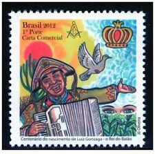 BRASIL 100° DO NASCIMENTO DE LUIZ GONZAGA** MNH MASSONERIA MASONIC FREEMASONRY