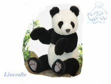 Jointed Panda Cub Plush Soft Toy by Hansa. 4473