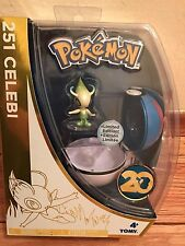 Pokemon 20th Anniversary figure: CELEBI 251 NEW SEALED Rare Limited Edition