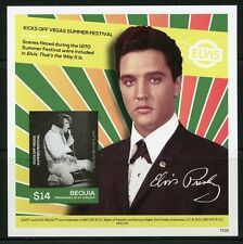 BEQUIA 2016  ELVIS PRESLEY FIRST RADIO RECORDERS SESSION  S/S MINT NH